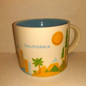 Starbucks 2013 You Are Here Mug - California